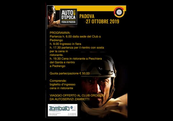 Gita Fiera Auto e Moto d'Epoca Padova
