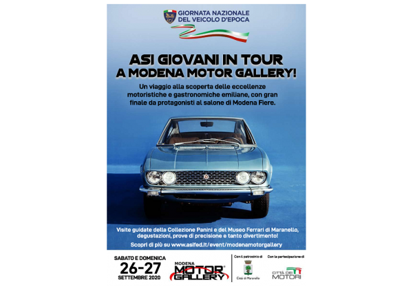 ASI giovani in tour a Modena Motor Gallery