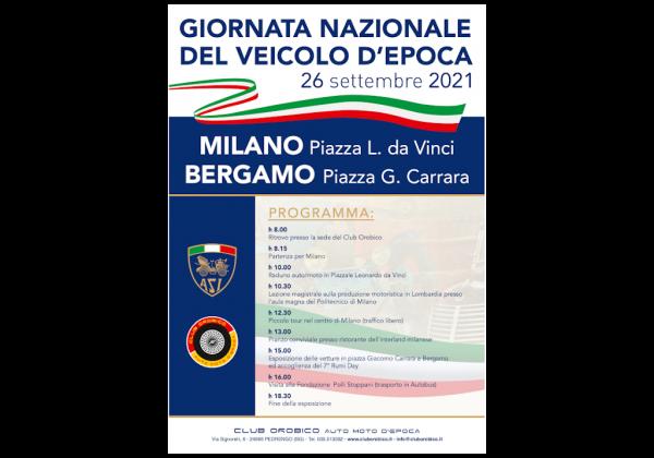 IV GIORNATA DEL VEICOLO D'EPOCA 26 settembre 2021